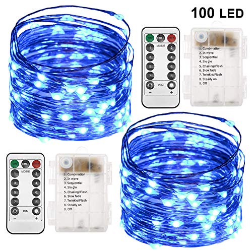 fairy light battery blue - 5