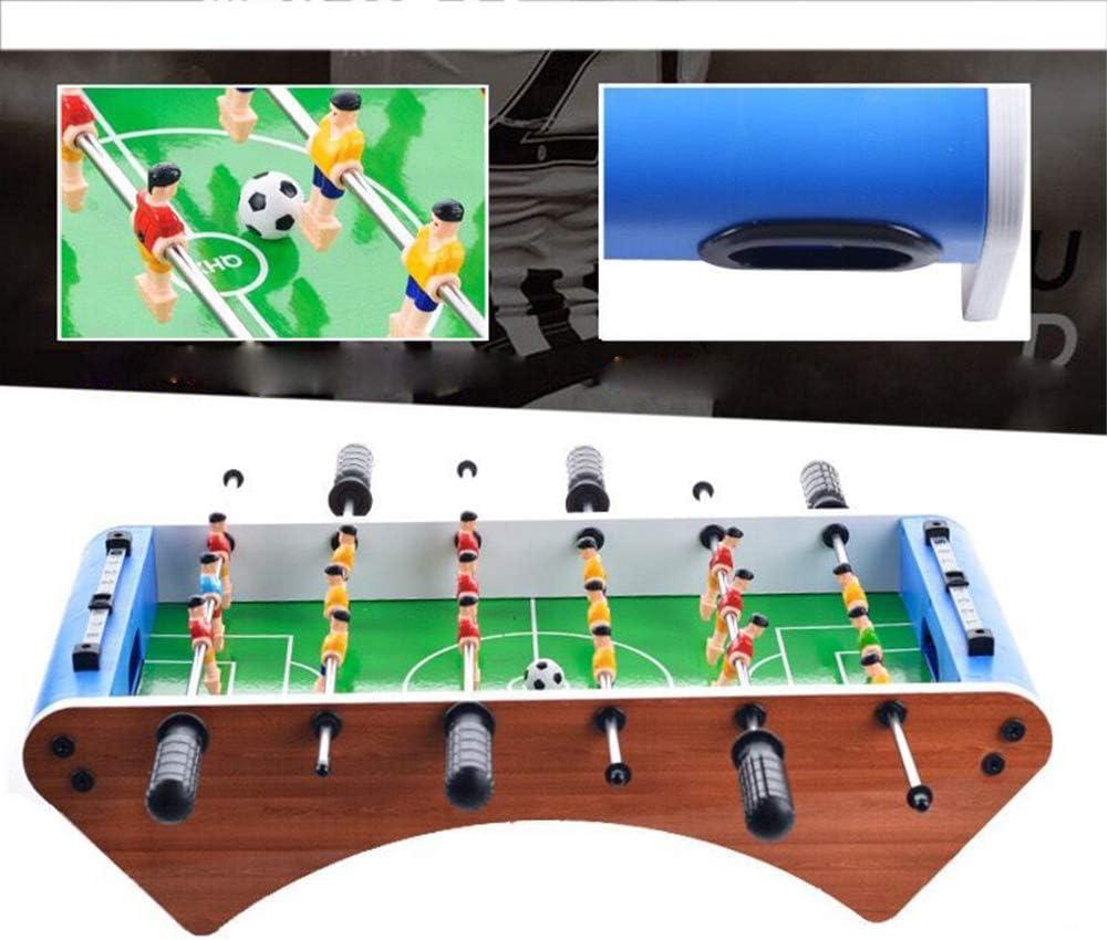 BXWQPP Futbolín Juego de Mesa de Madera Jugador Sólido Baby Foot Infantil para Niños Fútbolista Deporte Patada de Mesa Mesa de Fútbol Futbolín de Sobremesa: Amazon.es: Hogar