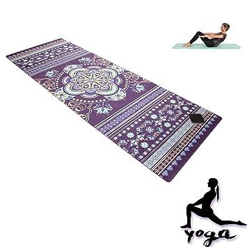 WYQWAN Estera De Yoga - Caucho Natural, Sudor ...