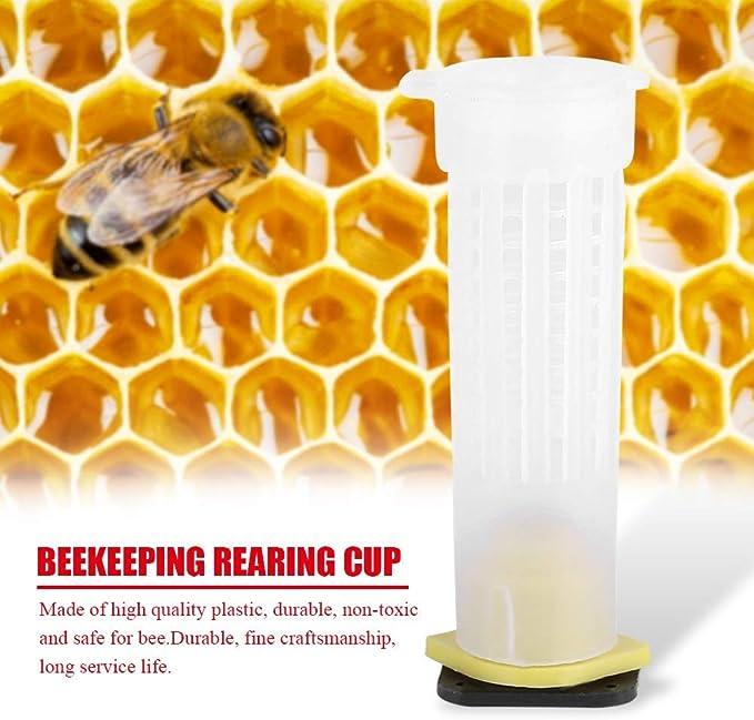 """2.6*2*2/"""" Plastic Queen Safety Cage Clip Bee Catcher Beekeeper Beekeeping Tool"""