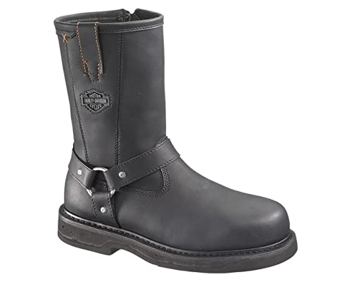 e3fa5ffb2d7 Harley-Davidson Men's Bill Steel Toe Harness Boot