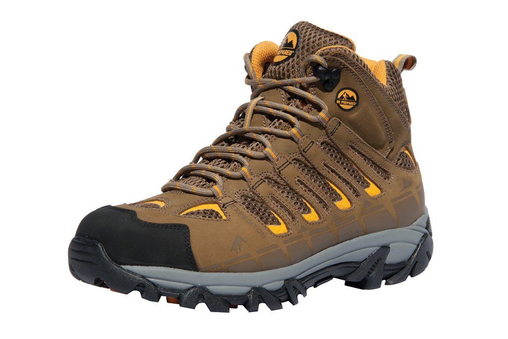 Boy Scouts of America Outdoor Hiking Boots Official Expedition Pro (9.5, Tan) by Be Prepared