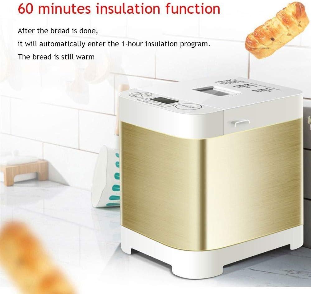 TWDYC Bread Maker Machine with Automatic Yeast Dispenser Automatic Bread Maker Machine,