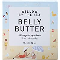 Belly Butter - 100% Certified Organic - Ultra Luxurious Cream for Pregnancy and Stretch Marks - by Willow by the Sea