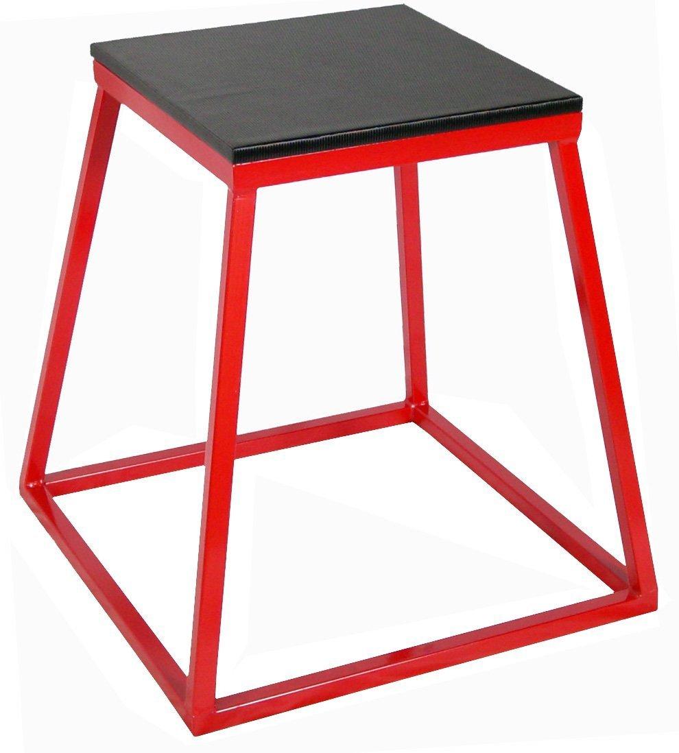 Ader Red Plyometric Platform Box (18'' Red) by Ader Sports (Image #1)