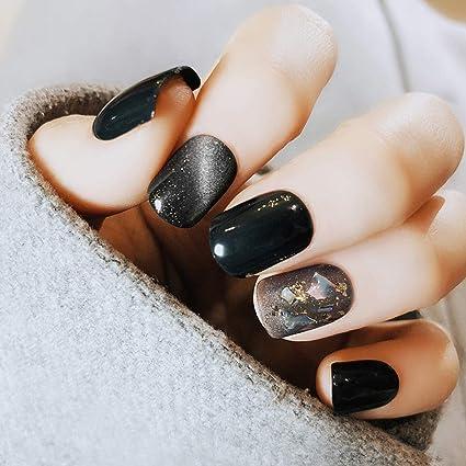 CoralStore - Juego de 22 uñas postizas para uñas postizas ...