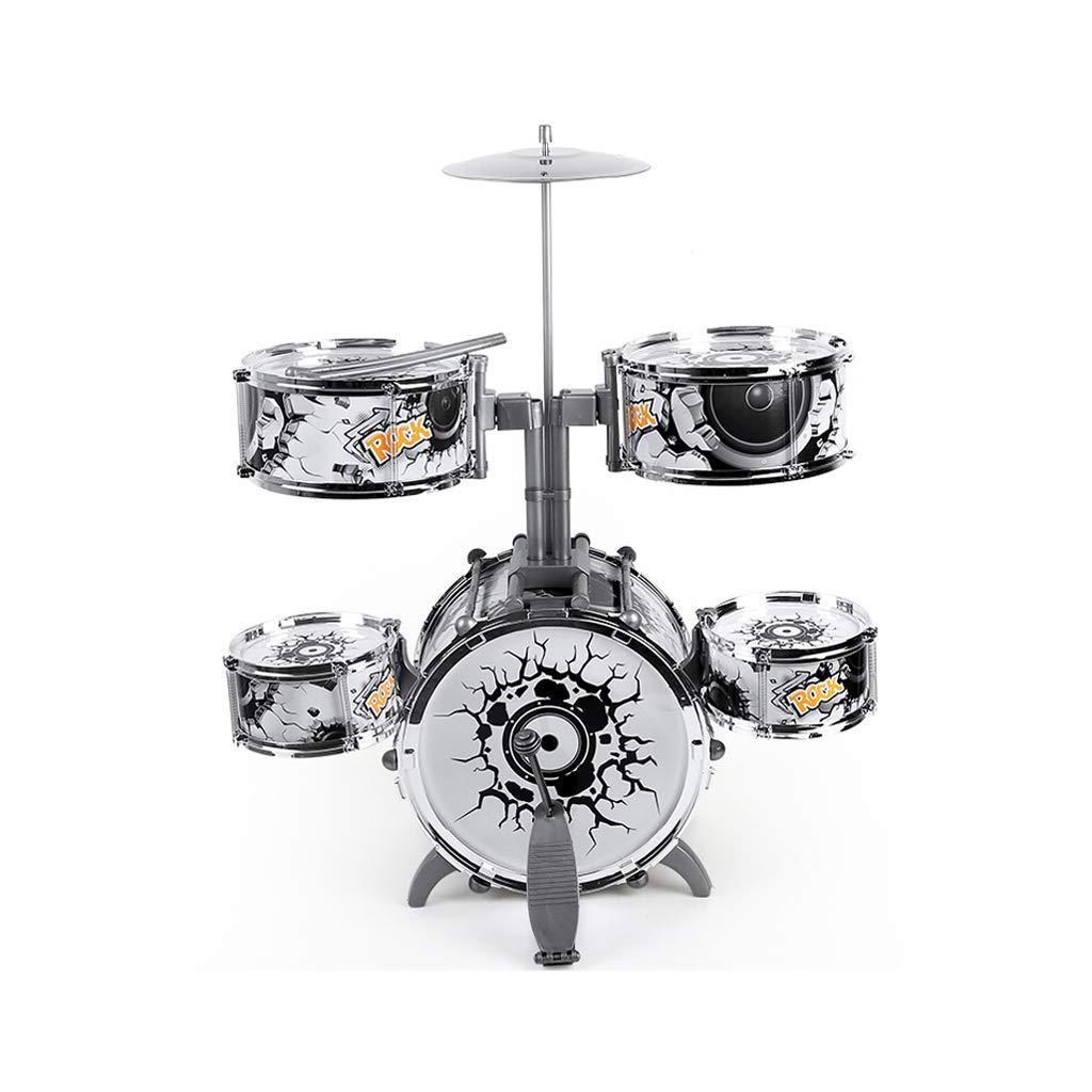 LINGLING-Tamburo Drum Toys per Bambini Cartoon Jazz Drum Percussion Music Training 3 Years Old (colore   C)