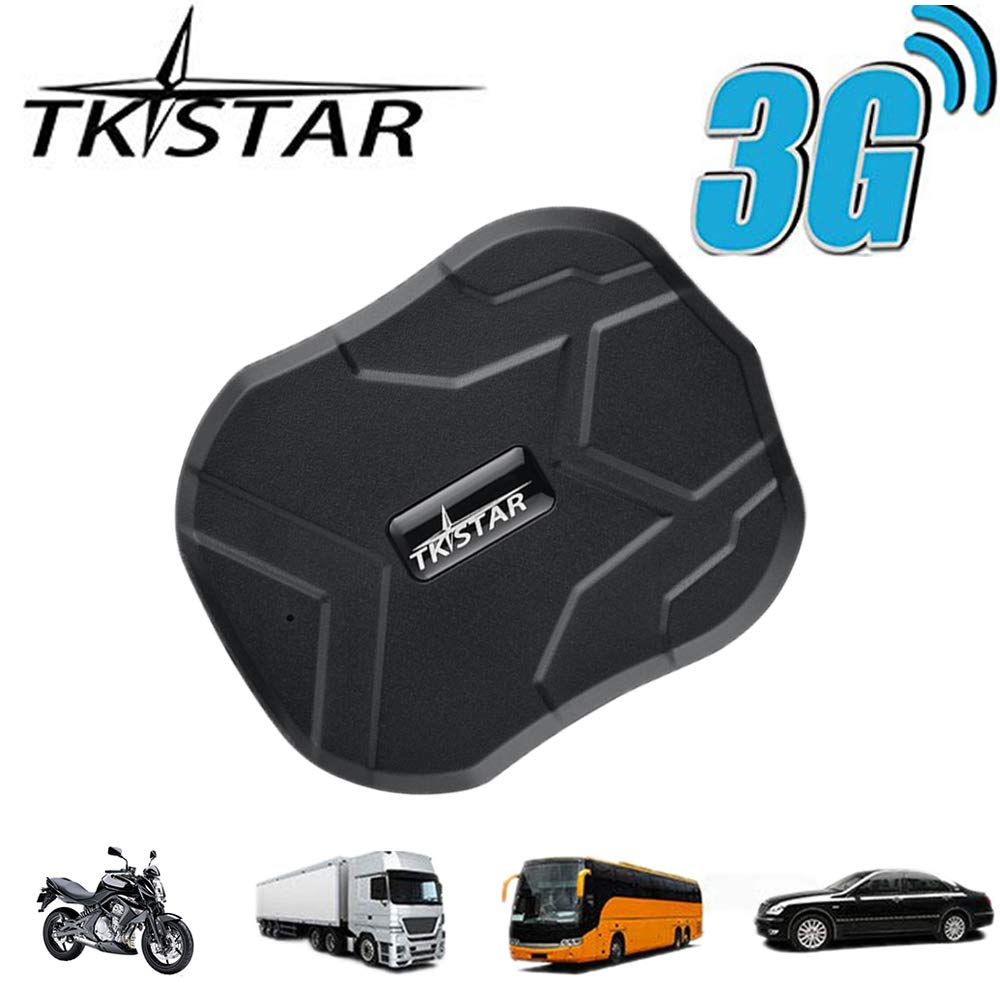 TKSTAR GPS Tracker-3G Real Time Vehiche Tracking Device Anti-Lost for Car Motorcycle Truck Strong Magnet Monitoring Waterproof Geo-Fence Remove Alarm TK905