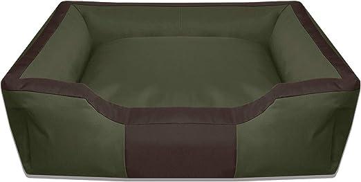 BedDog® Bruno Verde/Negro XXXL Aprox. 150x110cm colchón para Perro ...