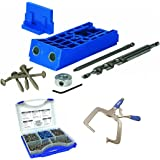 Kreg KJHD Heavy Duty Jig With Screw Kit & Right Angle Clamp