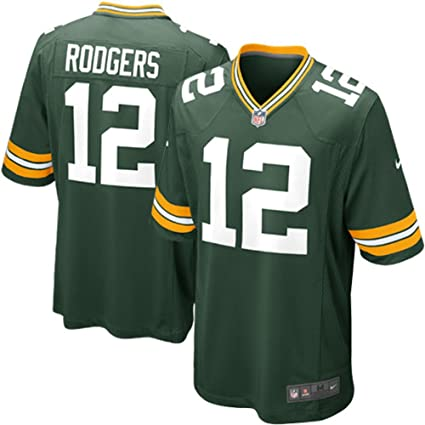 3b979a8ed Amazon.com : Nike Green Bay Packers Aaron Rodgers NFL Youth Green On-Field Home  Jersey (Size Small 8) : Sports & Outdoors