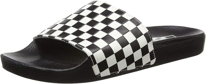 Vans Slide-on Checkerboard Mens Sandals (13.5 M US Women / 12 M US Men, Checkerboard White)