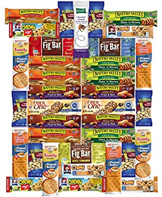 Healthy Office Bars & Snacks Care Package Variety Pack (36 Count)