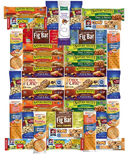 Healthy Office Bars & Snacks Care Package Variety Pack (36 (Collage Package)