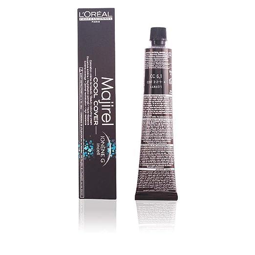 Majirel Cool Cover Coloración permanente en crema para el cabello 6.1 50 ml