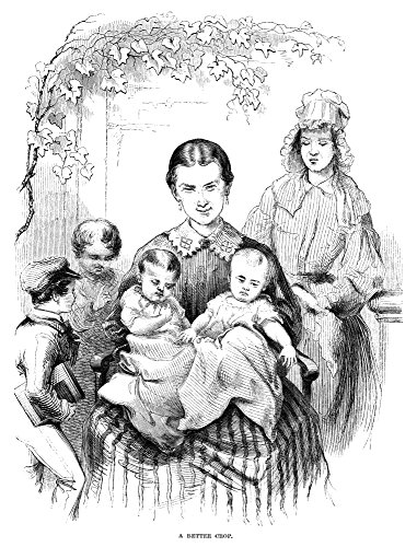 Posterazzi Poster Print Collection Mother and Twins C1875/Nw