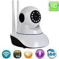 Câmera IP 1.3MP 720P ONVIF HD Wireless Wifi Audio SD P2P IR CUT