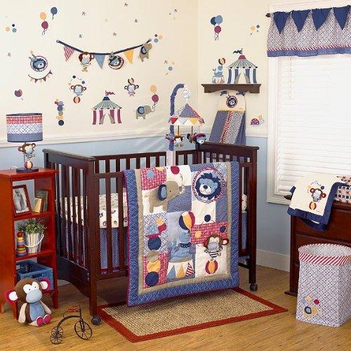 Cocalo Circus Act 4-piece Crib Bedding Set by Cocalo   B00GT44WHS