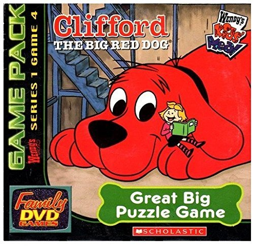 Clifford The Big Red Dog, Great Big Puzzle Game (Series 1, Game 4)
