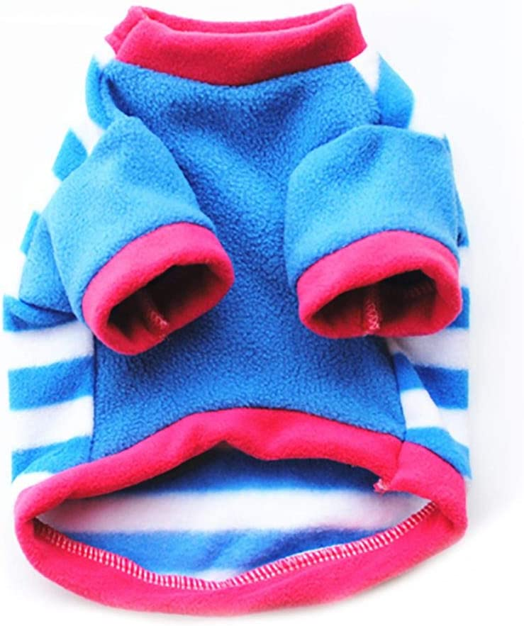 Balai Pet Dog Warm Coat Small Dog Fleece Hoodie Puppy Cat Soft Sweater Doggy Winter Apparel
