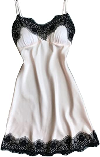 Details about  /Lace Lingerie  Gown Ladies ❤️ Women Nightdress Robe Sleepwear Night Babydoll