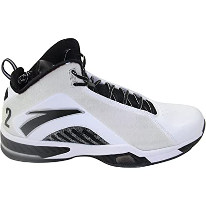 8b0193ae03aa Kevin Garnett Game Issued Shoes - Anta Kg3 White black white Size 15 Single  at Amazon s Sports Collectibles Store