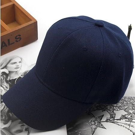Blue showsing donne berretto da baseball regolabile snapback hip-hop Pianura bianche Low Profile Sun Protection Cap M
