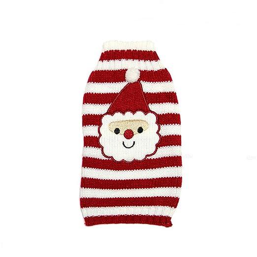 Amazon.com: Ropa de Navidad para mascotas, trajes para ...