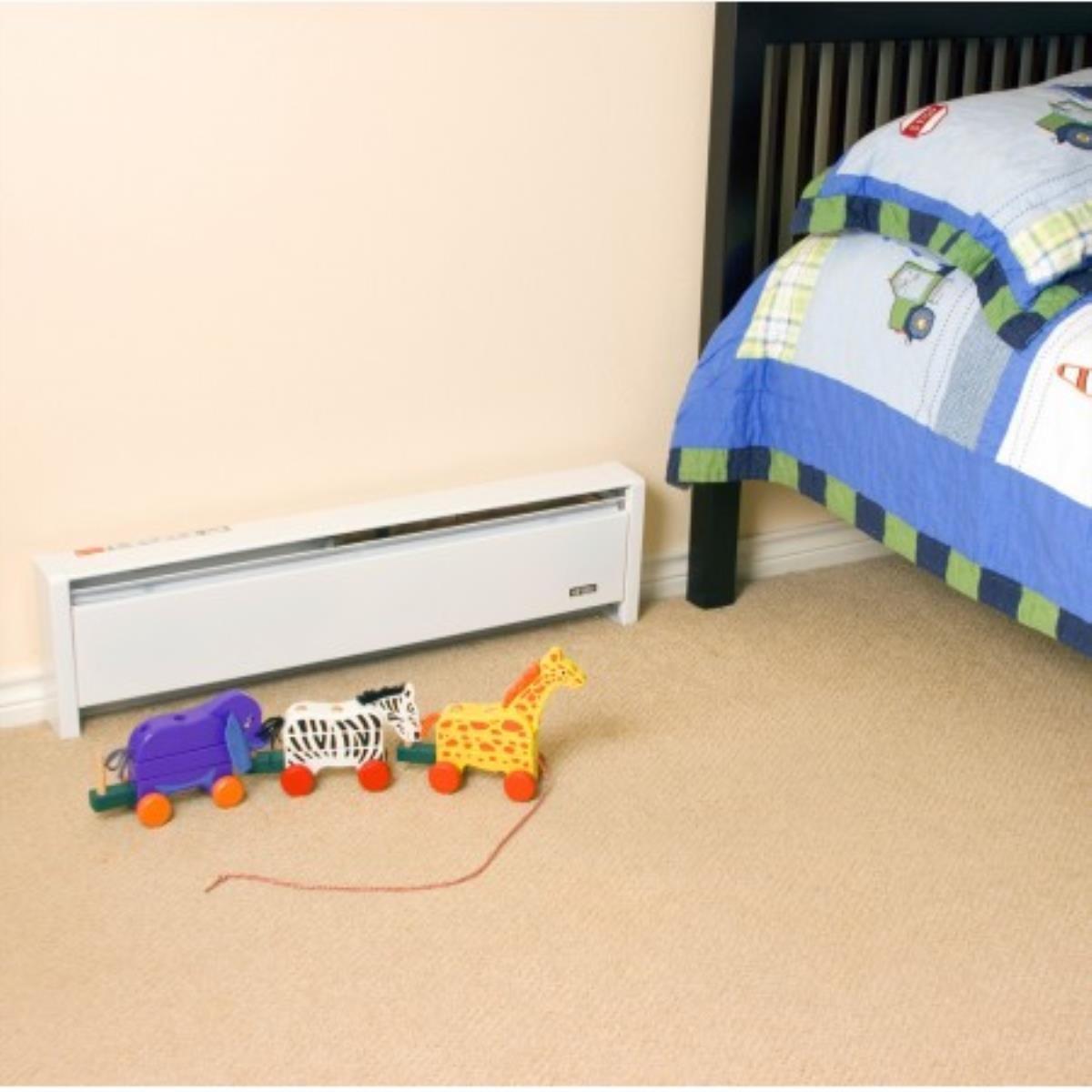 Cadet Ebhn1500wslh Softheat Hydronic Baseboard Heater Heaters Rough Wiring