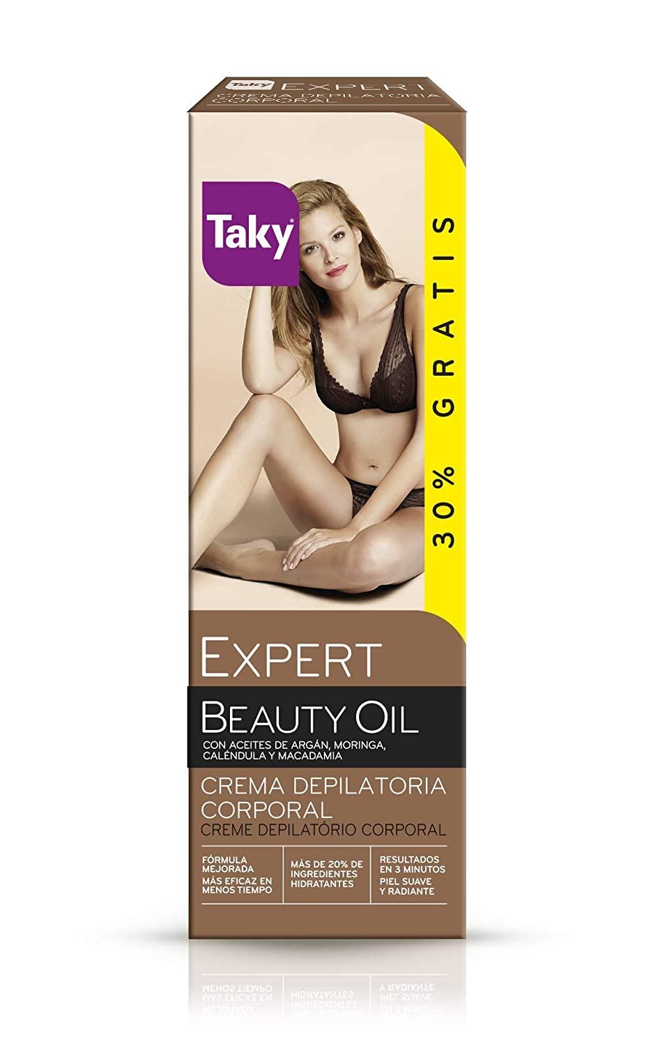 Amazon.com: TAKY EXPERT CON ORO crema depilatoria corporal 100 ml: Beauty