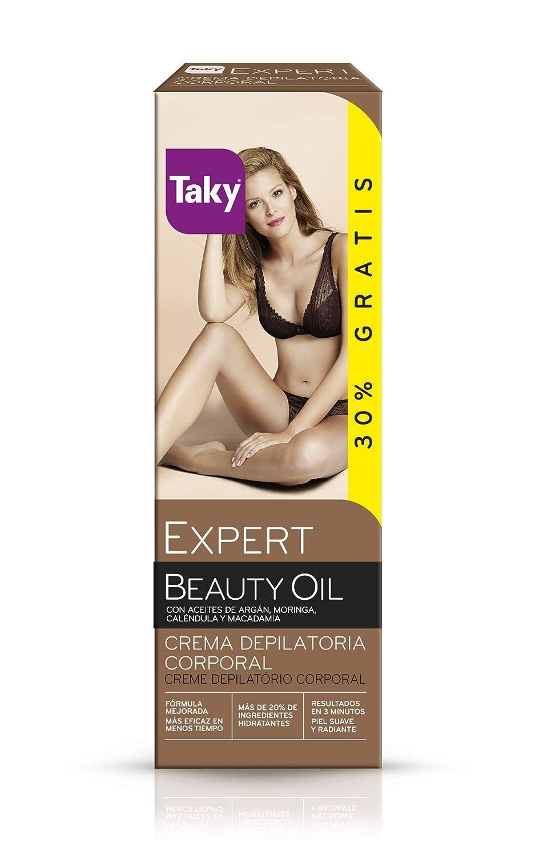 Amazon.com: TAKY EXPERT CON ORO crema depilatoria corporal 100 ml: Beauty