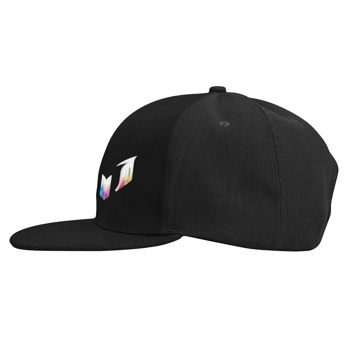 DeniCar Unisex Adjustable Baseball Caps Lio-nel-Me-SSI-Colorful-Logo Skull Cap