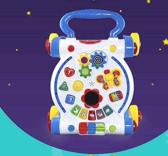 Andador Para Bebé Multi-función Ajustable Velocidad Walker ...