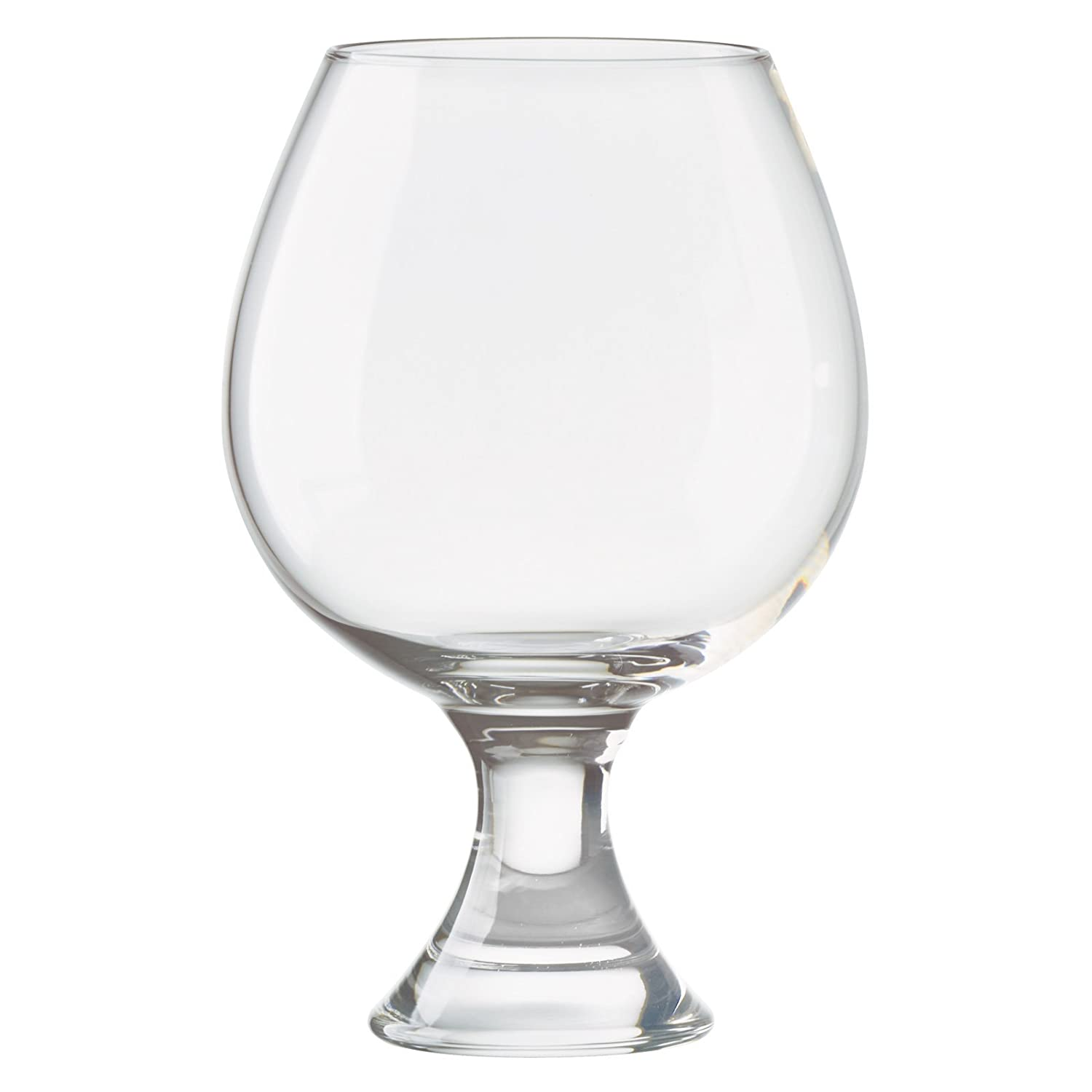 Anton Studio Designs Manhattan Brandy Glasses, Clear, Set of 2 ASD10278