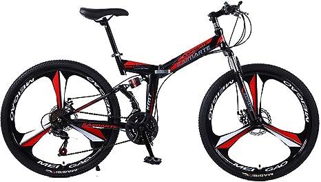 Liu Yu·casa creativa 24 Bicicleta de montaña Plegable de 26 ...