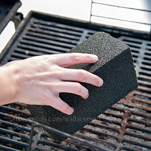 Grill Brick, Griddle/Grill Cleaner, BBQ Barbeque Scraper griddle Cleaning Stone
