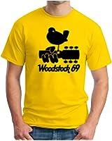 OM3 - WOODSTOCK '69 - T-Shirt PEACE LOVE MUSIC HIPPIE FLOWER POWER USA, S - 5XL