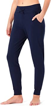 NAVISKIN Pantalones de Running para Mujer Pants Atléticos ...