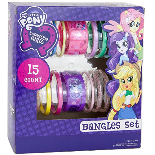 Easy My Little Pony Adult Costumes (Bangles Bracelets Set 15 Count | My Little Pony Gift Set Color May Vary.)