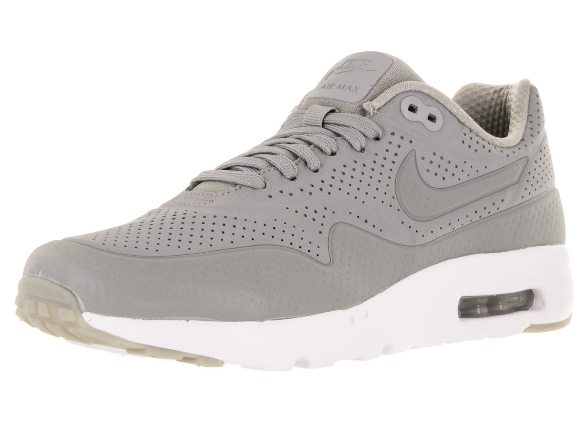 Nike Herren Air Max 1 Ultra Moire Turnschuhe  46 EU|Gris (Gris (Medium Grey/Medium Grey-white))