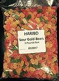 Haribo Sour Gold-Bears 5 Pound Resealable Bag