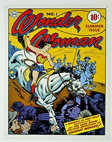 - Wonder Woman - Cover No.1 Tin Sign #2086
