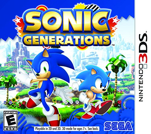 Sonic Generations - Nintendo 3DS (Super Mario Bros 2 The Lost Levels)