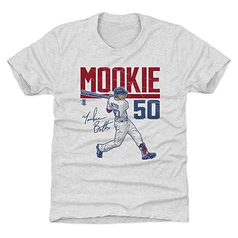 Amazon.com   500 LEVEL Mookie Betts Boston Baseball Kids Shirt ... 627dbfadcbd