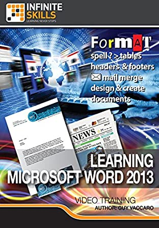 Amazon com: Learning Microsoft Word 2013 [Online Code]: Software