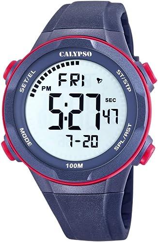 Calypso Watches Reloj Digital para Hombre de Cuarzo con Correa en Plástico K5780/4