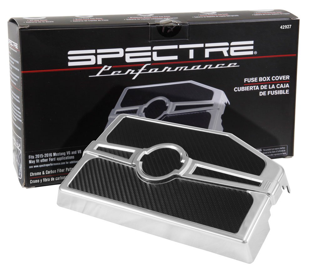 Spectre Performance 42927 Fuse Box Cover Automotive 2015 Mustang