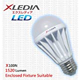 XLEDIA LED Bulb-X100N (A19-100W Equivalent-1710 Lumen-Cool White-Enclosed Fixture + Insulation Contact Suitable)