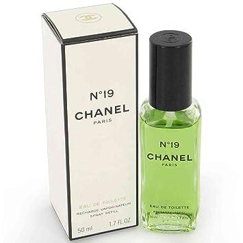 chanel 19. 19 by chanel eau de parfum spray refill 50ml \