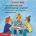 Zum Glück hat Lena die Zahnspange vergessen / Lena zeltet Samstagnacht Hörbuch von Kirsten Boie Gesprochen von: Kirsten Boie